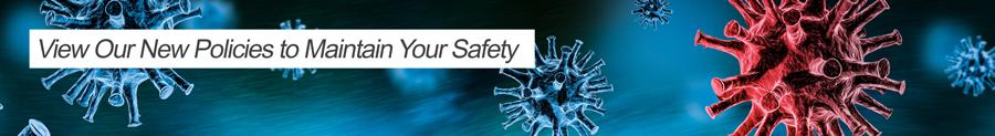 Coronavirus Policies Banner